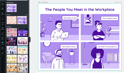 Canva Comic Strip Maker- A Great Tool Teachers and Students Can Use to Create Educational Comic Strips
