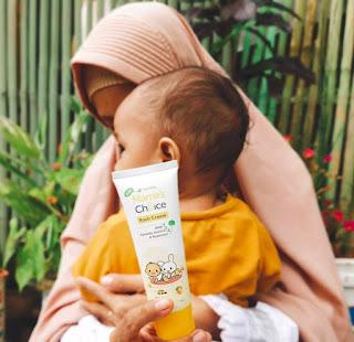 Mama's Choice Rash Cream seaman pelukan mama