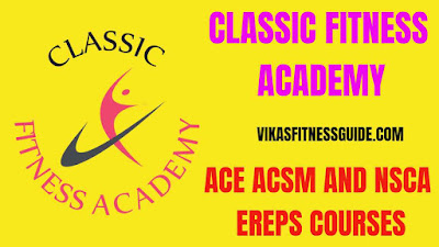 Classic fitness academy,classic fitness academy courses,