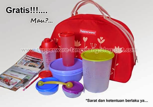 Gratis Kitbag Tupperware Tupperware Tangerang Pendaftaran Member Penjualan Produk