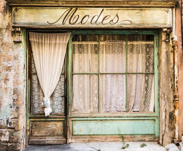 Vintage store curtains