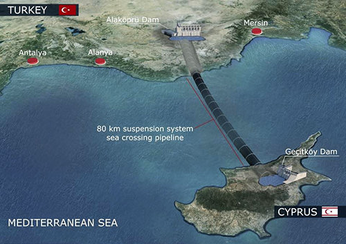 Water supply from Turkey delayed by bad weather to be restored by Sept. 29