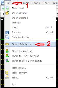 วิธีโหลดข้อมูลค่าเงิน Forex โปรแกรม MT4 (History Center
