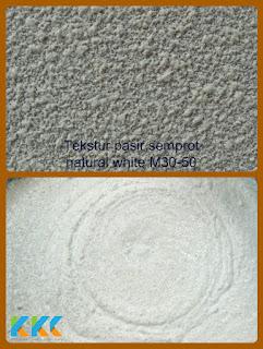 bahan cat tekstur pasir