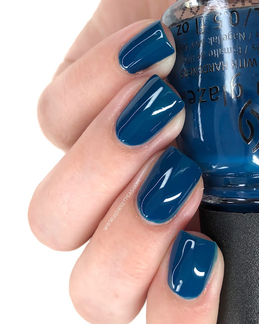 China Glaze Saved By The Blue Bell 25 Sweetpeas
