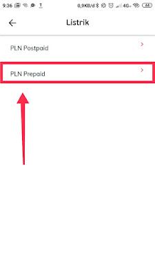 pln pre paid token listrik pln prabayar