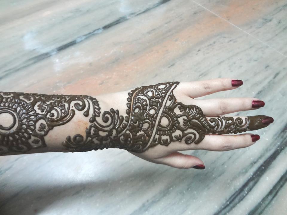 Mehndi Ideas Lahore : Mehndi designs by lahore girls henna
