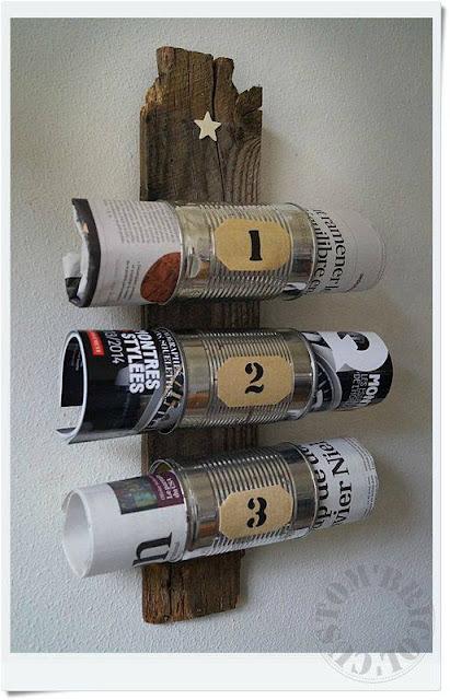 range magazines toilette en récup