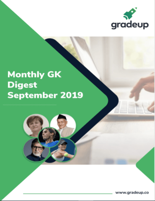 Monthly-GK-Digest-September-2019-For-All-Competitive-Exam-PDF-Book