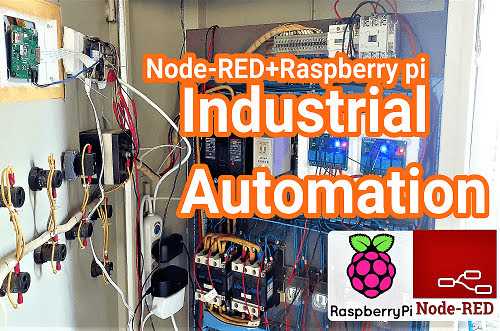 Industrial Automation based on Node-RED and Raspberry pi using Node-RED Dashboard