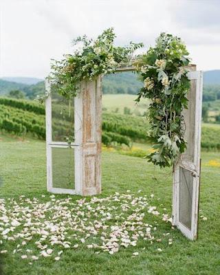 entrada boda decoracion