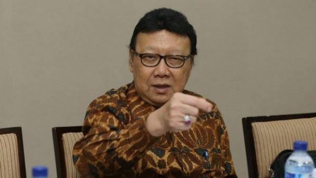 Tjahjo Kumolo: Kalau Dibiarkan Lama-lama Bisa Bakar Gedung Partai