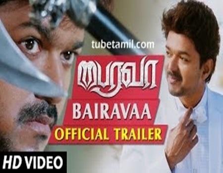 Bairavaa Official Trailer   Vijay, Keerthy Suresh   Santhosh Narayanan   Bharathan