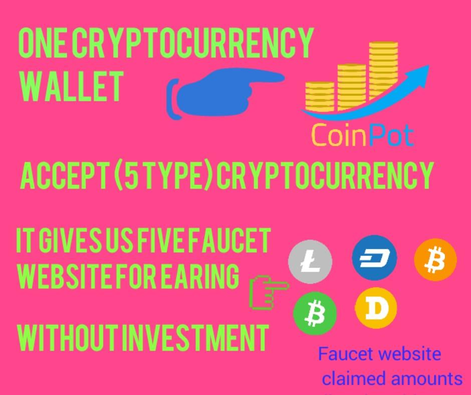 Coinpot-Earn free Bitcoin,Dogecoin,Dashcoin,Litecoin,Bitcoin cash