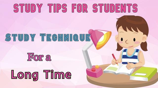 study tips, study trick