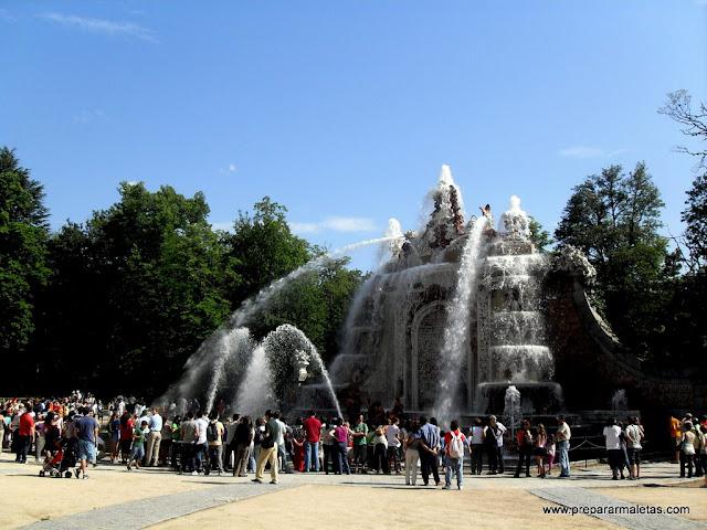 Que ver y hacer en la Granja de San Ildefonso en Segovia