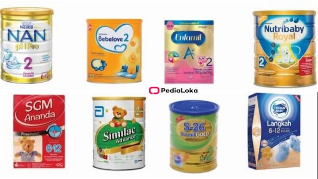 daftar harga susu formula dari termurah sampai termahal