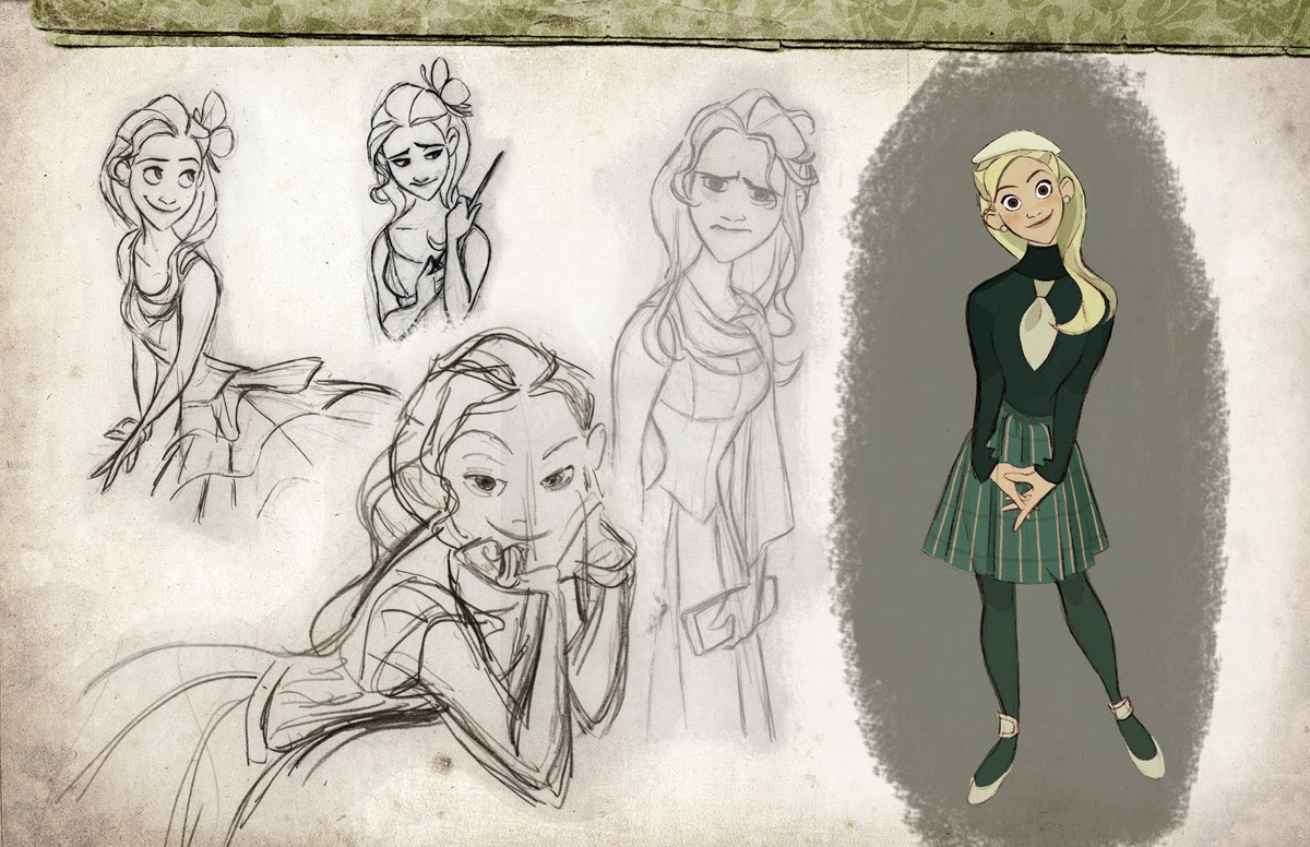 Art Disney: Once Upon A Blog...: (Old) Animation Development Art For
