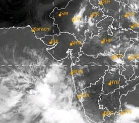 અરબી સમુદ્રમાં થઈ રહેલા લો પ્રેશરને કારણે ગુજરાતમાં ફરી વરસાદની આગાહી