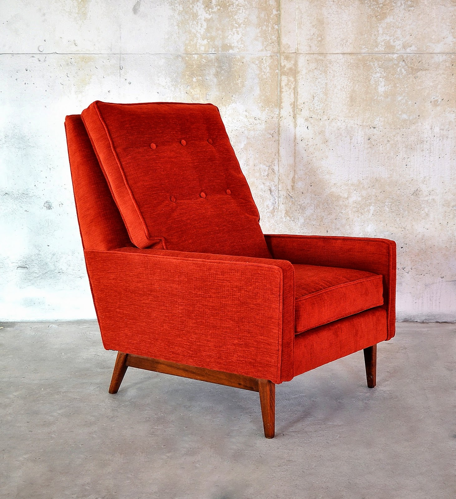 Select Modern Ed Wormley Style Club Lounge Chair
