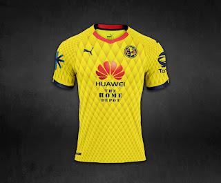 Camiseta América México 2018 - América México Kit 2018 - HOME