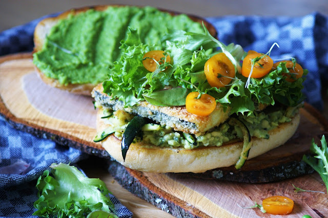 Veggie Green Sandwich