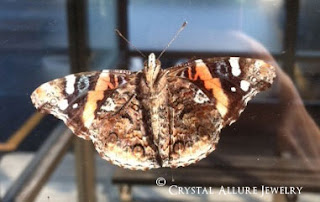 Painted Lady Butterfly 2012. Photo Source: Crystal Allure Creations Jewelry and Gifts