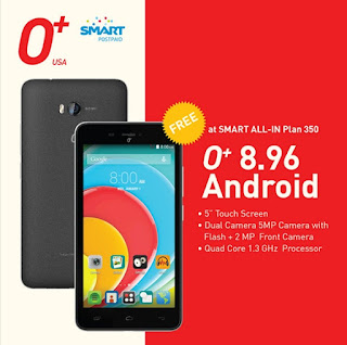 O+ 8.96 Free At Smart All-In Plan 350