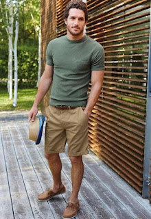 The Best Quarantine Looks For Men- T-shirt and Shorts