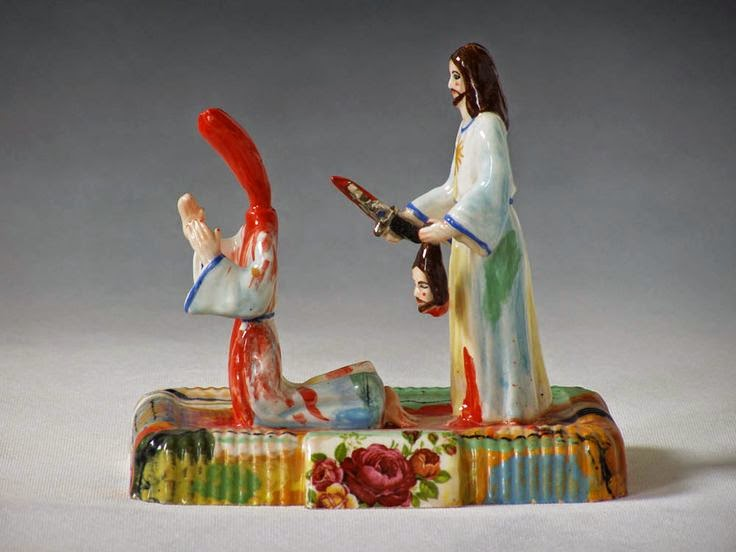 Funny Jesus Gethsemane Chainsaw Massacre picture