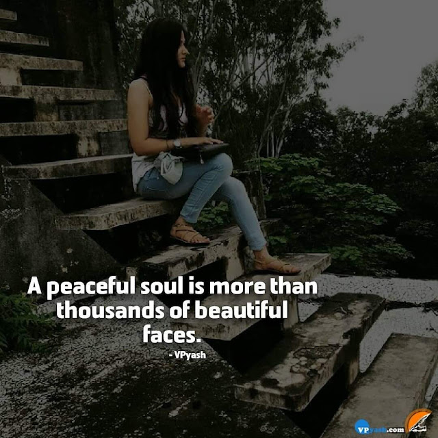 Beautiful faces are in Peaceful Soul