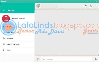 Download WhatsApp 0.2.3699 For PC Terbaru Gratis