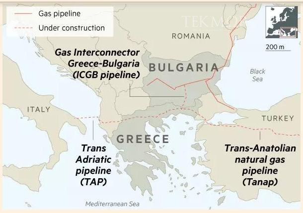 Line pipe supplier selected for Gas Interconnector Greece-Bulgaria
