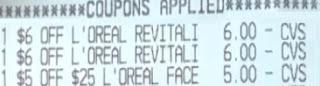 FREE L'Oreal Paris Face Serum CVS Deals 9/12-9/18