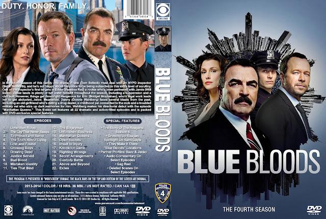 Capa DVD Blue Bloods Quarta Temporada Completa