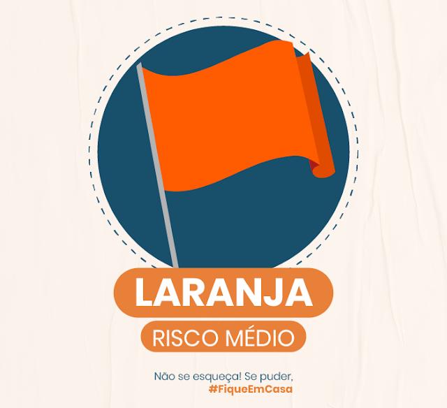 bandeira laranja em pelotas