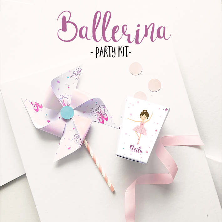 party kit a tema 'Ballerina'
