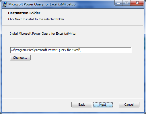Proses Install Add-in Power Query