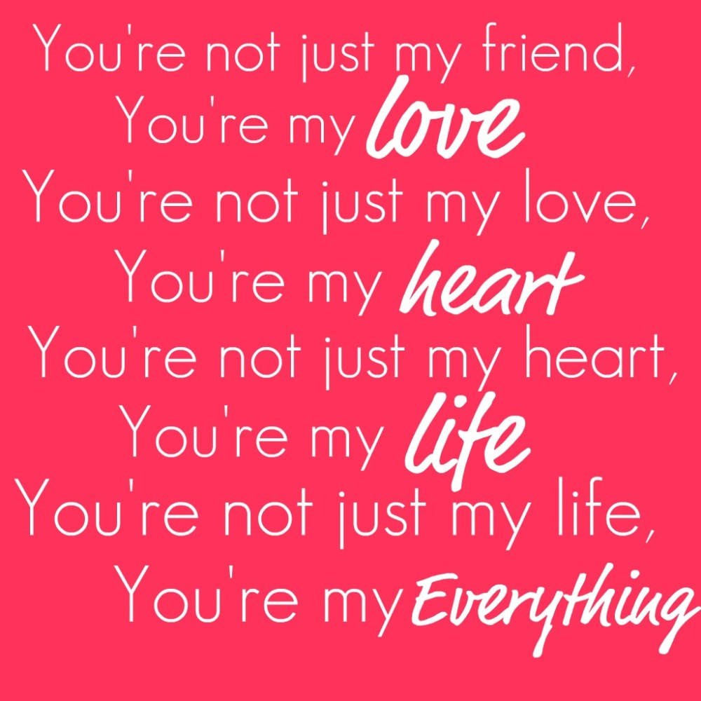 your my everything quotes on love and life