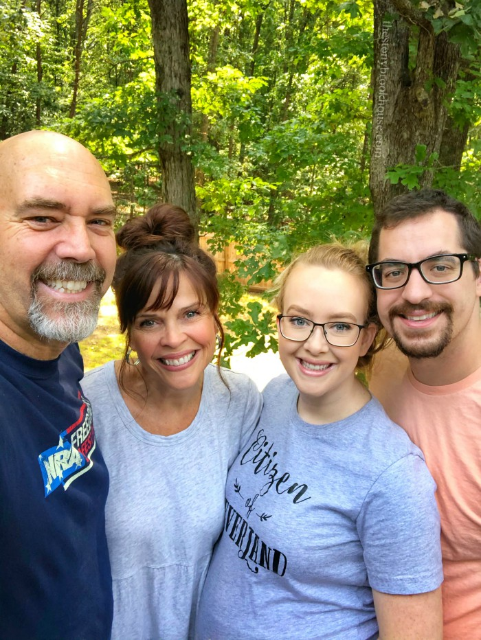 Sunday Style Over 50 - Visiting VA Family