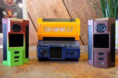 2018 Best Futuristic Vape mod Snowwolf VFENG-S 230W TC Box Mod