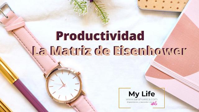 matriz, Eisenhower, planificador, descargar, gratis, PDF, productividad