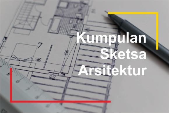 Gambar Sketsa Arsitektur