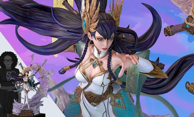 Impresionante figura de Irelia a escala 1/4 de League of Legends - Infinity Studio
