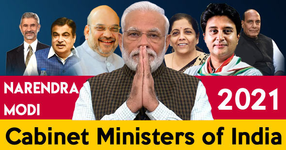 List of Cabinet Ministers of India 2021