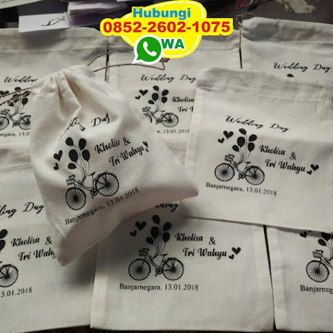 souvenir pouch kanvas 52042
