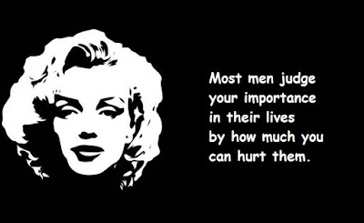 """Marilyn Monroe Quotes About Importance"""