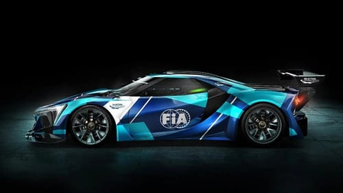 The FIA launches the flagship model in the electric GT class