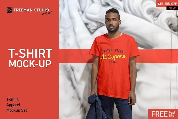 Creativemarket T-Shirt Mock-Up Set 3809721