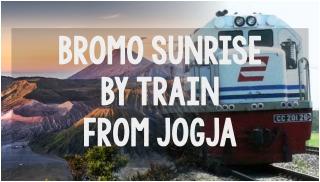 bromo sunrise by train